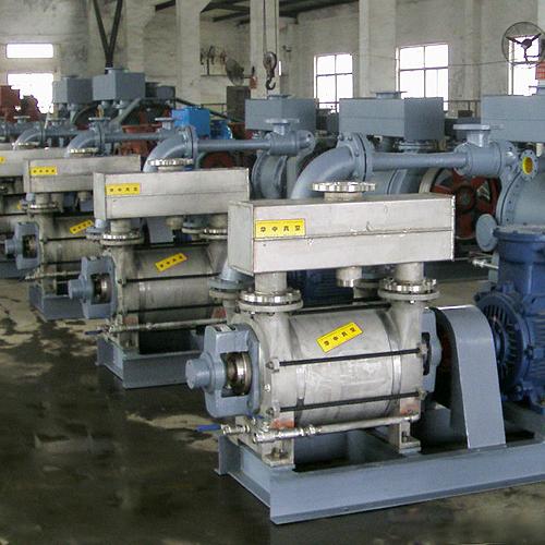 罗茨水环真空机组、水环真空泵